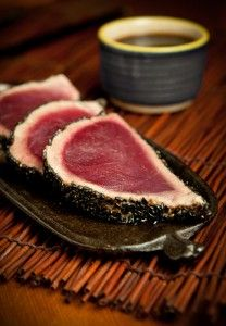 """Tuna Tataki!! I'll be in Florida in 5 days and this is on my """"must eat"""" list."""