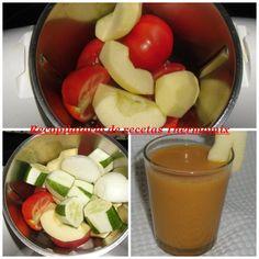 Gazpacho con manzana en thermomix