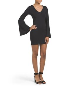 Bell Sleeve Mini Dress - Day - T.J.Maxx
