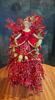 Christmas Angel Doll Display - Christmas Decorations Online