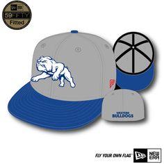 d30bc9b05a6 Western Bulldogs 2015 New Era 59FIFTY Two Tone Grey Cap  59.99 Western  Bulldogs