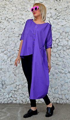 Now trending: Asymmetrical Purple Top / Extravagant Cotton Blouse / Asymmetrical Cotton Top / Funky Purple Top TT116 / RISE https://www.etsy.com/listing/515796591/asymmetrical-purple-top-extravagant?utm_campaign=crowdfire&utm_content=crowdfire&utm_medium=social&utm_source=pinterest