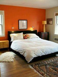 En tono naranja
