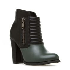 Play around with your streetstyle and don this edgy quilted bootie by Beau+Ashe to instantly elevate your look.