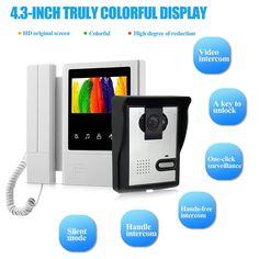 kit interphone vidéo gsm pour villa - 2 boutons d\'appel - pose en ...