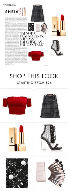 """""""Untitled #49"""" by sanela-m ❤ liked on Polyvore featuring Yves Saint Laurent and Balmain"""