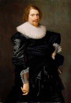 Portrait of a Man, Nicolaes Eliasz. Pickenoy, 1632