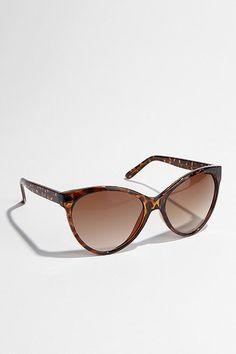 UO Oversized Cat-Eye Sunglasses