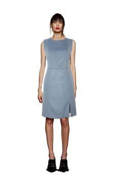 Woolen Holly Dress