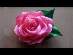 DIY chiffon rose,fabric rose tutorial,how to make English Cloth Flowers, Fabric Roses, Diy Flowers, Beaded Flowers, Crochet Flowers, Crochet Flower Tutorial, Rose Tutorial, Flower Embroidery Designs, Silk Ribbon Embroidery