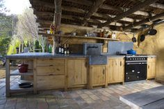 Outdoor kitchen by #Cousaert
