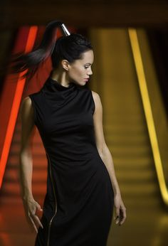 "TEMA #3 2013: ""MOVEMENT""  Ann Marit Aamodt, Studio Alf frisører Awards, Stylists, Photographs, Ann, Studio, Black, Dresses, Fashion, Vestidos"
