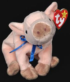 Knuckles - pig - Ty Beanie Baby