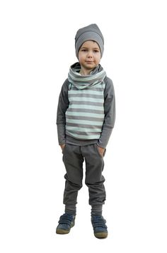 Design: Streifen mint/grau Winter Jackets, Mint, Pocket, Design, Fashion, Stripes, Grey, Bags, Winter Coats