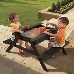 Kids Garden Table by KidKraft from Through the Country Best Auntie Ever! www.brickroadcreativestudios.com