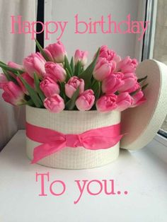 Latest Totally Free happy Birthday Flowers Thoughts If you are seeking a new polite along with pleasurable birthday bash surprise intended for a pal as Free Happy Birthday Cards, Birthday Wishes Flowers, Happy Birthday Cake Images, Happy Birthday Wishes Images, Happy Birthday Flower, Birthday Wishes Messages, Happy Birthday Friend, Birthday Blessings, Happy Birthday Greetings