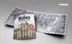Map of the Bund Shanghai by redBANG Applications