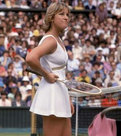 """Chris"""" Evert (born December 21, 1954) is a former World No. 1 professional tennis player from the United States. She won 18 Grand Slam ..."""