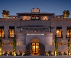 Restoration Hardware.  I like this.  Might be a little bit of a Florida type design.  Very expensive to build.  Not sure what to say that I like about it.