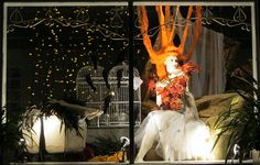 Halloween Window Ideas | Halloween Window at the Swallow's Nest.