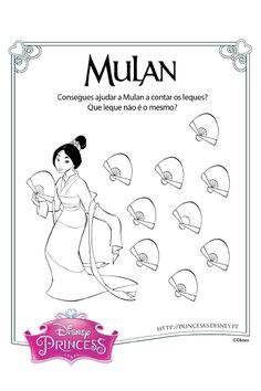 Mulan e os leques
