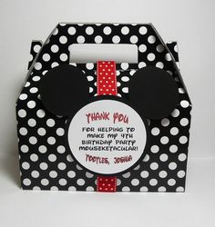 Cute favors! #mickey #party