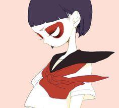 Evian#school #japan #girl #draw #illustration #colorful #pastel #kawaii #asian