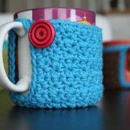 crochet mug koozie