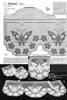 Gallery.ru / Фото #20 - Бабочки в филейной технике - Alleta