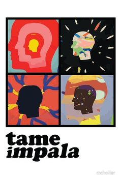 37 Ideas music poster art tame impala for 2019 Tame Impala, Kevin Parker, Band Posters, Cool Posters, Design Posters, Music Posters, Misaki Kawai, Poster Wall, Poster Prints