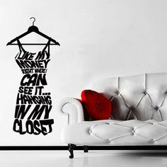 Wall decal art decor decals sticker fashion by DecorWallDecals, $28.99
