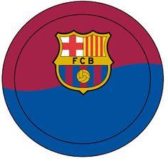 AQUARELINHA: Kit Futebol (Barcelona) Logo Barcelona, Barcelona Soccer Party, Barcelona Football, Lego Font, Champions League, Messi Y Ronaldinho, Soccer Birthday Parties, Soccer Shirts, Real Madrid