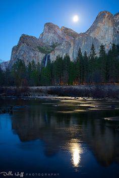 Moonlight on the Merced, Yosemite