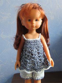 Marie vous présente aujourd'hui une nouvelle tenue estivale               Vous avez sans doute reconnu la tenue de Melissa que j'ai adapté ...