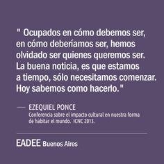 #ser #aprendizaje #coaching #ontologico #ezequielponce