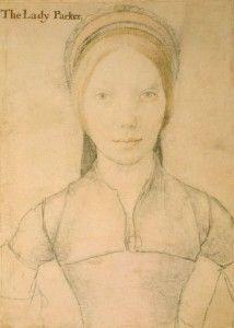 Stock Photo - Sketch by Hans Holbein the Younger; Portrait of Jane Boleyn, Lady Parker, sister in law to Anne Boleyn; Tudor History, British History, Uk History, Dinastia Tudor, Tudor Style, Hans Holbein The Younger, Renaissance Portraits, Renaissance Clothing, Renaissance Art