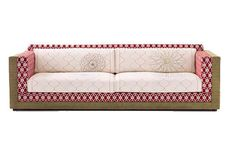 A good eye for fabric choices makes this classic sofa an eye catcher...Robert from upholsteryslipcoversla.com