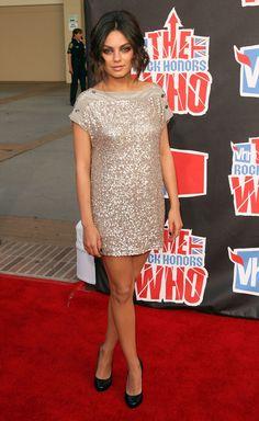 Mila Kunis' Style Evolution - Mila Kunis in Stella McCartney, 2008