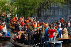 Don't miss Queensday / Kings Day when you're in the Netherlands!
