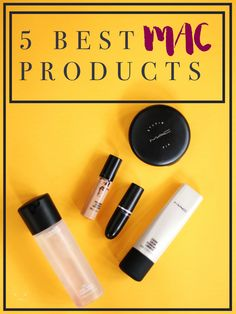 MAC Cosmetics has so much to choose from but these are the 5 Best MAC Products for natural, beautiful looking makeup for everyone - dry skin, oily skin, for lots of coverage. Click here to read more!