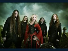 Leaves' Eyes: Lead singer Liv Kristine (formerly of Theatre of Tragedy, another favorite of mine).