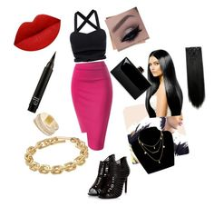 """Nicki Manaj Style"" by sissy2004m ❤ liked on Polyvore featuring Calvin Klein and GUESS"