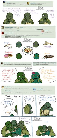Ask the AU Turtles: 6 by 10yrsy.deviantart.com on @deviantART I love this verse so much!!!