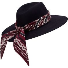 Hermès Nuccia Hat (3.495 BRL) ❤ liked on Polyvore featuring accessories, hats and band hats