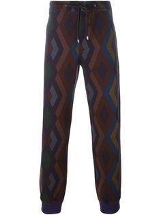 ETRO Geometric Print Track Pants. #etro #cloth #pants