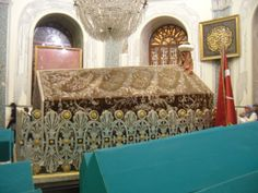osman gazi founder of ottoman empire tomb in bursa city, turkey by mytripolog.com