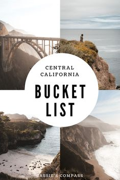 Things to do in Central California. The Ultimate Central California Bucket List. #california #roadtrip #californiaroadtrip #centralcoast Central California Road Trip | Places to Visit in California | Central California Travel | Central California Day Trips data-id= California Places To Visit, California Destinations, Us Travel Destinations, Best Places To Travel, California Travel, Travel Things, Beautiful Places To Visit, Cool Places To Visit, Places To Go