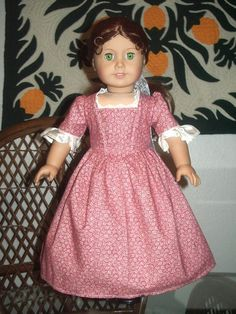 Colonial Dress for your American Girl by alohagirldollclothes, $17.50