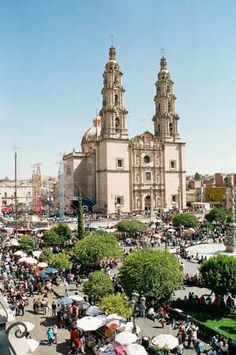 At the end of January and beginning of February each year a great pilgrimage occurs to the shrine and the city grows many times in size. This festival is attended by more than a million people, many of them walking, from all over Mexico.  http://www.pilgrim-info.com/south-america/mexico/basilica-of-san-juan-de-los-lagos/