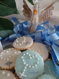 Cookies Decorados - Lembrancinha - Batizado